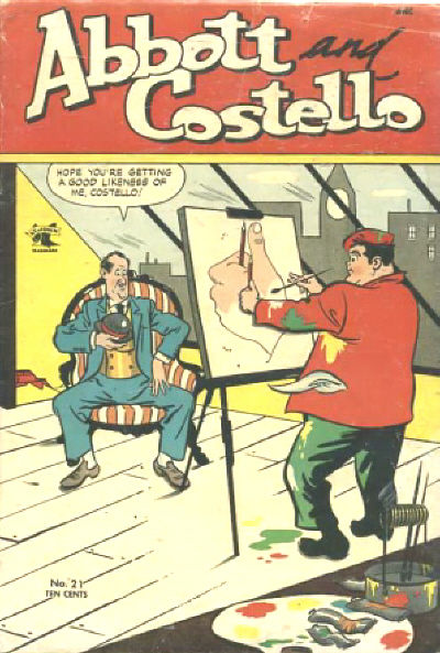 Cover of Abbott and Costello #21