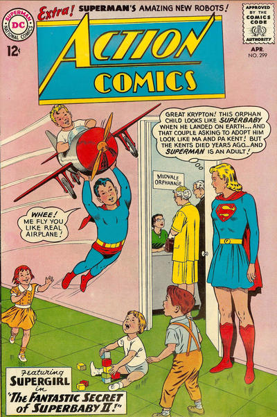 Cover of Action Comics #299