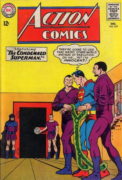 Cover of Action Comics #319