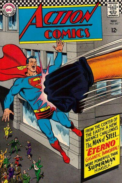 Cover of Action Comics #343
